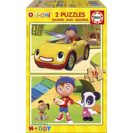 Puzzle madera Noddy - 2x16 educa (17160)