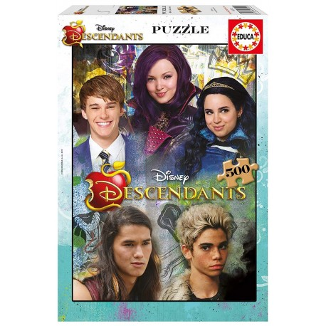 Puzzle Los Descendientes 500 pcs educa (16552)
