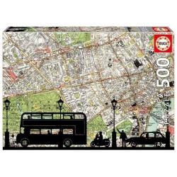 Puzzle Hora punta - 500 pcs educa (16731)