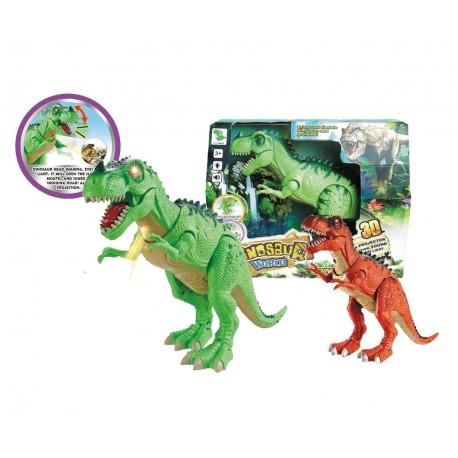 Dinosaurio luz y sonido (surtido)
