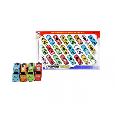 Caja 24 coches josbertoys (560)