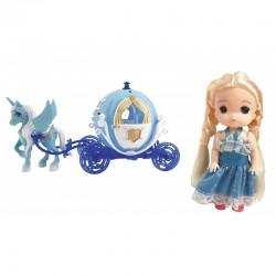 Princesa de hielo + Carroza josbertoys (536)