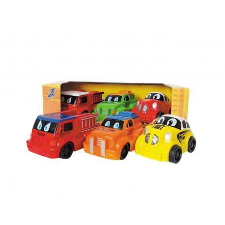 Set 3 coches infantiles josbertoys (664)