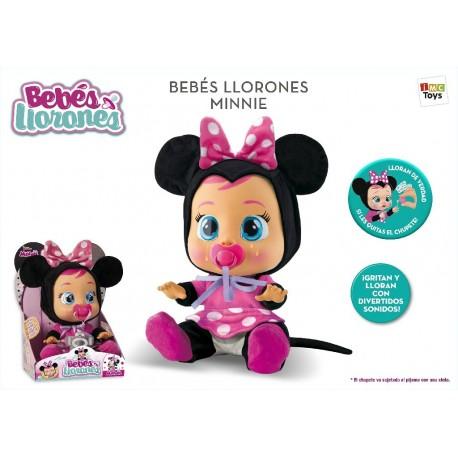 Minnie bebe llorones imc (97865)