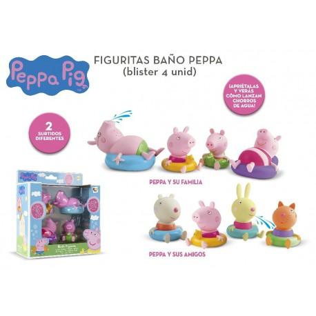 Pepa pig figuras baño imc (360037)