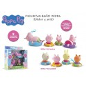 Peppa pig figuras baño imc (360037)