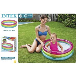 Piscina bebé 86x25 cm intex (57104)