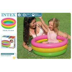 Piscina bebe 61x22 cm intex (57107)
