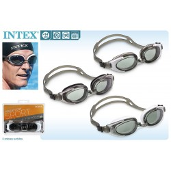 Gafas natación policarbonato intex (55685)