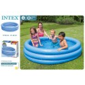 Piscina 3 aros 168x56cm 581 l intex (58446)