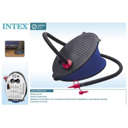 Bomba de pie 28 cm intex (69611)