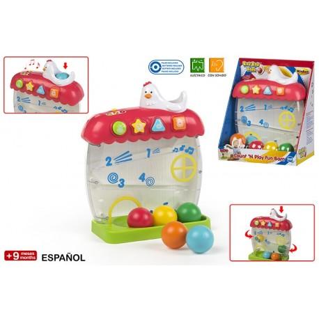 juego bolas gallina winfun (44233)