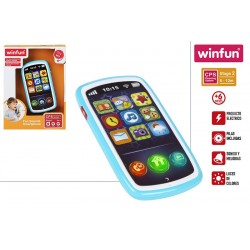 telefono movil musical bebe winfun (44523)