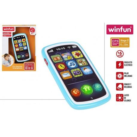 telefono movil musical bebe winfun (44523)