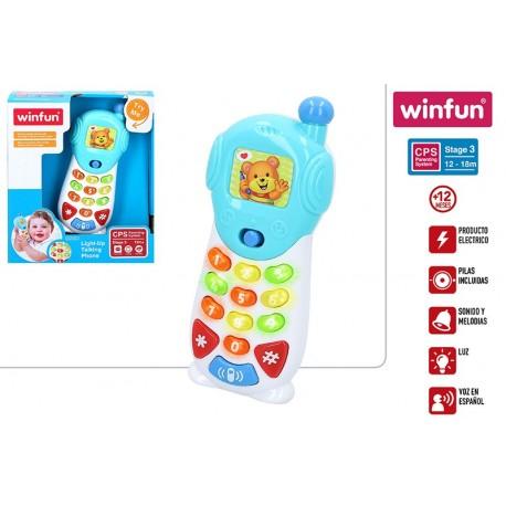 telefono luces y sonidos winfun (46310)