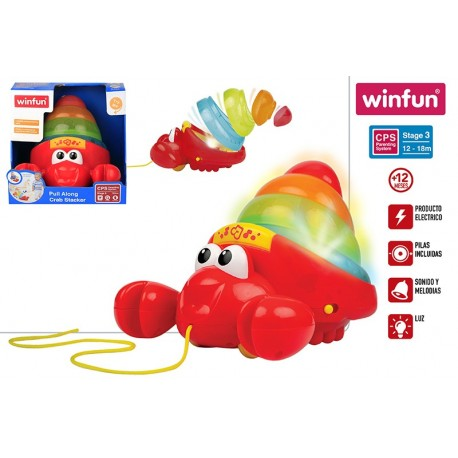 arrastre musical cangrejo winfun (46315)