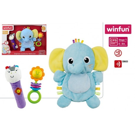 set sonajero elefante winfun (46330)