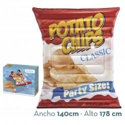 Colchoneta hinchable Bolsa patatas intex (58776)