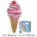 Colchoneta hinchable cucurucho de fresa intex (58762)