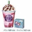 Colchoneta hinchable Berry Pink intex (58777)