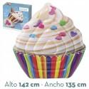 Colchoneta hinchable cupcake intex (58770)