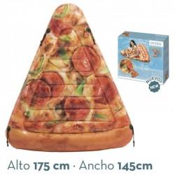 Colchoneta hinchable porción de pizza intex (58752)