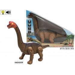 Brachiosaurio camina luz y sonido rama (39610)