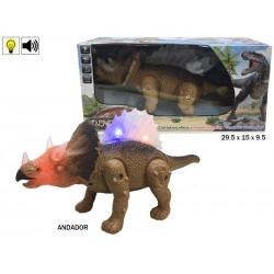 Triceratops camina luz y sonido rama (39634)