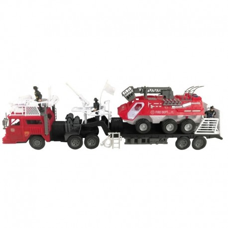Super Camión 80 cm - Fire Rescue Team josbertoys (218)