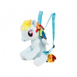 Mochila My little Pony 30 cm - Rainbow famosa (760015620)