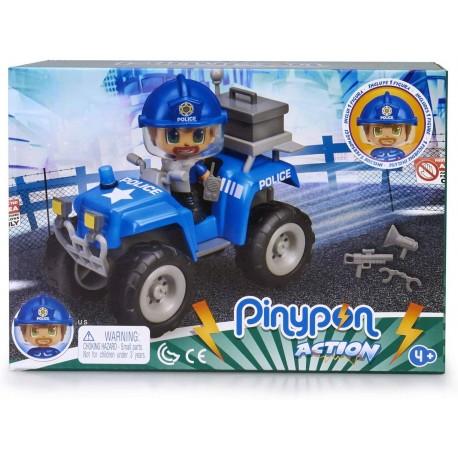 Pinypon Action. Quad con Policía famosa (15582)
