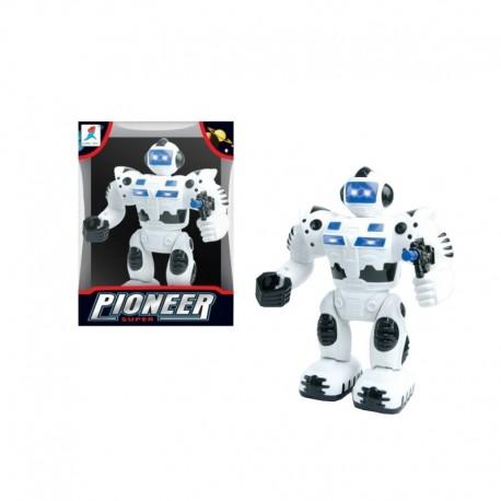 Super robot luz y sonidos movimiento josbertoys (383)