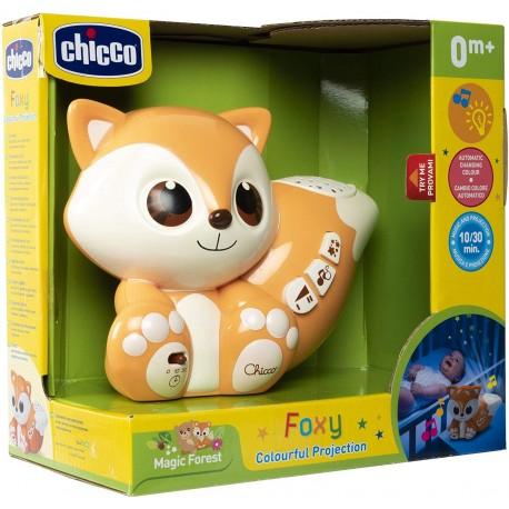 Foxy proyector de colores chicco (10064)