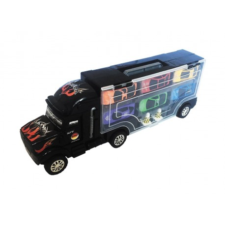 Camión portacoches 6 pcs josbertoys (595)