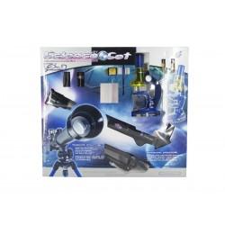 Set microscopio y telescopio josbertoys (571)