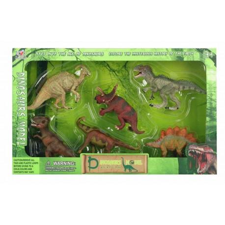 Caja 6 dinosaurios josbertoys (543)