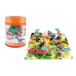 Bote dinosaurios 30 piezas josbertoys (238)