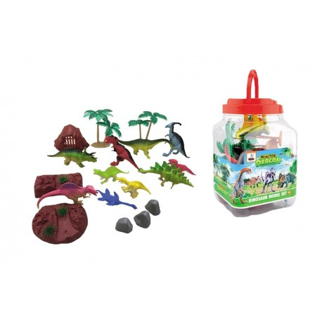 Bote dinosaurios 22 piezas josbertoys (241)