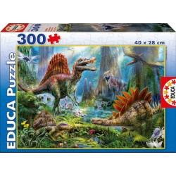 Puzzle dinosaurios 300 pcs educa (16366)