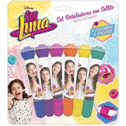 Set 6 rotuladores Soy Luna (safta)
