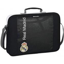Cartera extraescolar Black Real Madrid (safta)