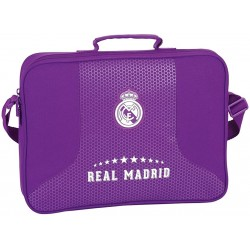 Cartera extraescolar Purple Real Madrid (safta)