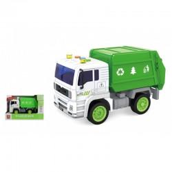 Camión basura fricción luz y sonidos 1:20 josbertoys (494)