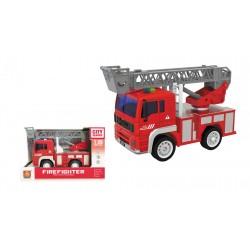 Camión bomberos fricción luz y sonidos 1:20 josbertoys (494)