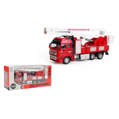 Camión bomberos metal 1:38 josbertoys (412)