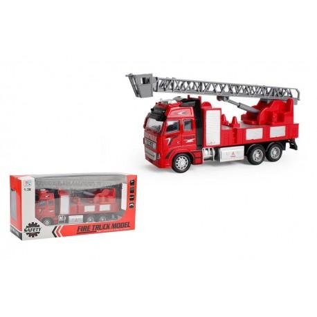 Camión bomberos metal 1:38 josbertoys (411)