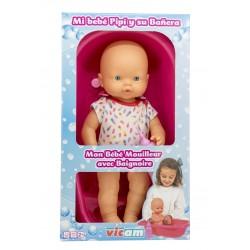 Bebé Pipí bañera caja vicam (155)