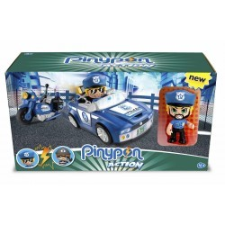 Pinypon Action. Policía vehículos de acción famosa (14495)