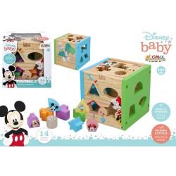 Cubo formas Mickey colorbaby (48717)