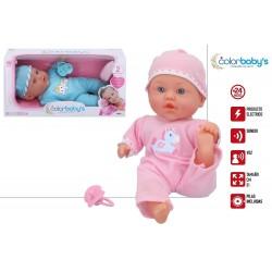 Bebé blandito sonidos colorbaby (43713)